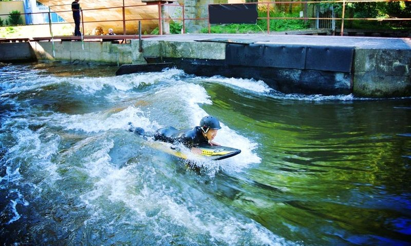 River Surfing in Prague