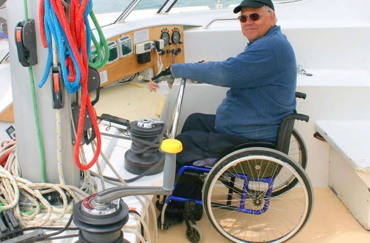 Wheelchair Accessible Catamaran in Portsmouth, UK