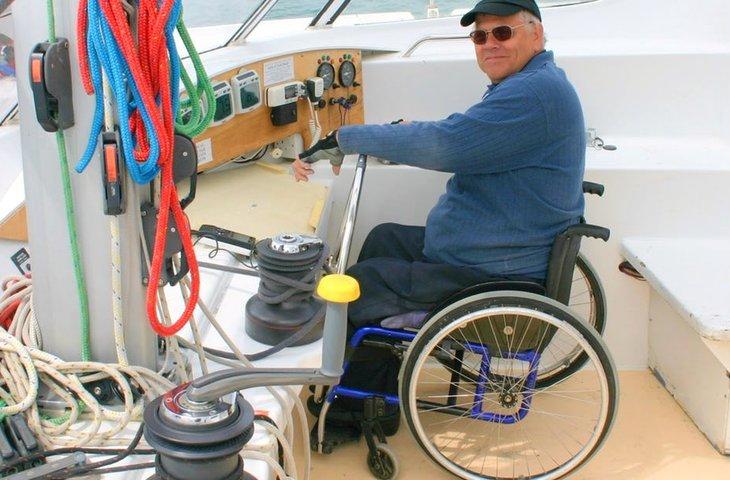 Wheelchair Accessible Catamaran in Portsmouth, UK
