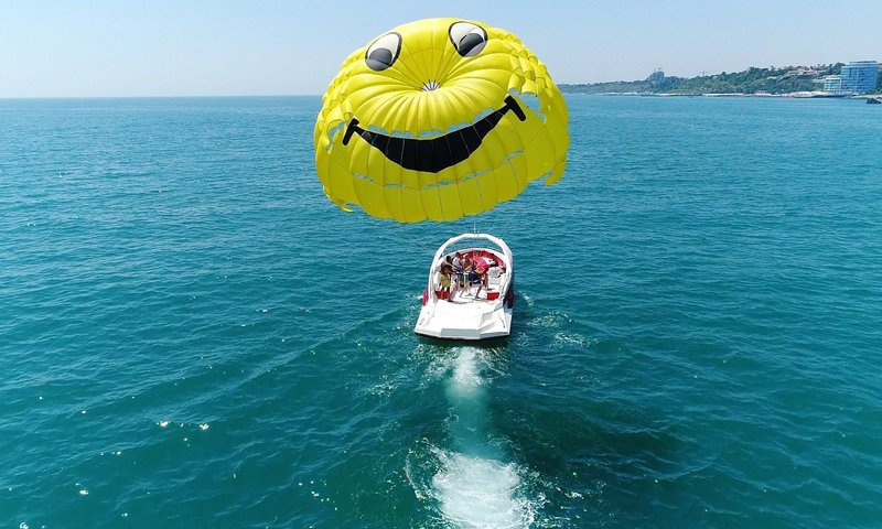 book a Parasailing ride