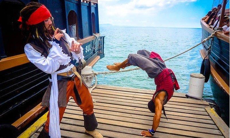 brazil pirate ships