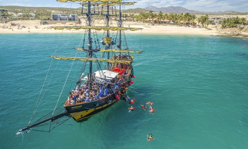 mexico pirate ship trip