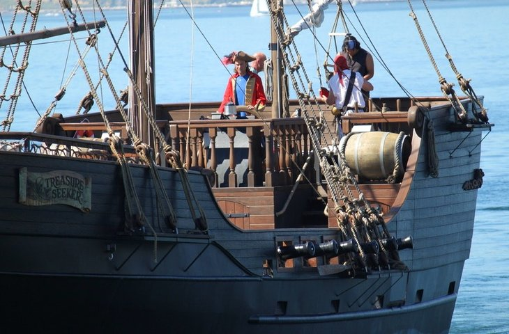san diego pirate ship