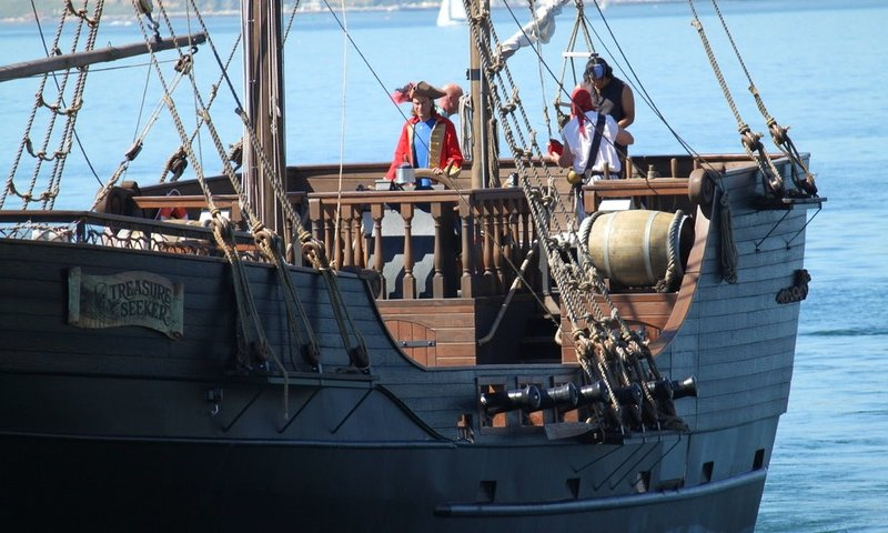 san diego pirate ship