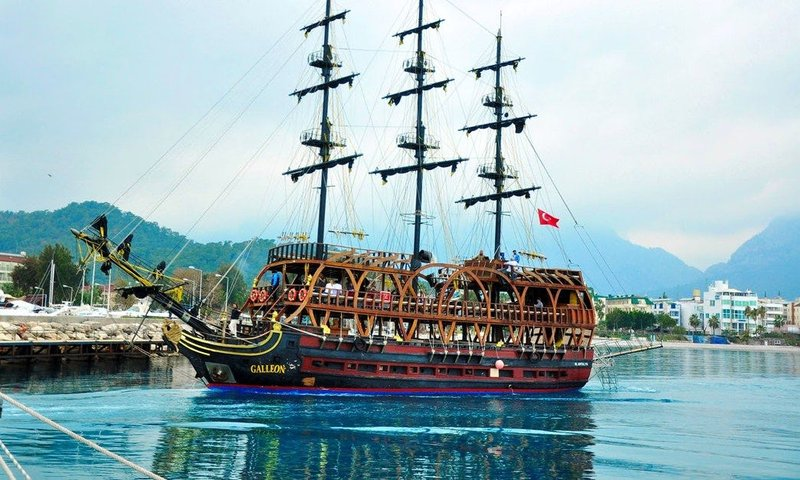 turkey pirate ship